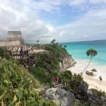 Das Castillo von Tulum am Karibischen Meer ?