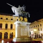 Die Statue von El Cid in Burgos ?