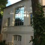 Das Atelier von Delacroix von dem romantischen Garten aus ?