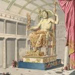 Die Zeus-Statue des Phidias in Olympia ?