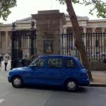 Das British Museum und das blaue Taxi ?