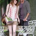 Emma Stone und Joachin Phoenix in der Filmkomödie Irrational Man von Woody Allen ?