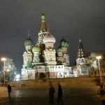 Die Basilius-Kathedrale auf dem roten Platz ?